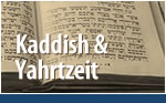 Kaddish & Yahrtzeit